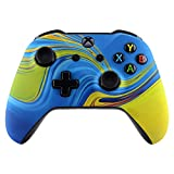 eXtremeRate Fantasy Trip Patterned Front Housing Shell Case for Xbox One S/X Controller, Soft Touch Faceplate Cover Replacement Kit for Wireless Controller (Model 1708) - Controller NOT Included