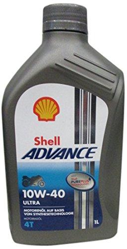 Shell Advance Ultra 4T 10W -40, 1L