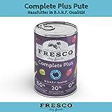 Fresco Dog Complete Plus Pute 800g (haltbares B.A.R.F.)