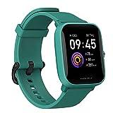 Amazfit Bip U Smartwatch Orologio Intelligente Fitness Schermo AMOLED da 1,43', Monitor del Sonno per Sport, 60 Modalità di Allenamento, Impermeabile 5 ATM, Contapassi, Uomo, Donna, Verde