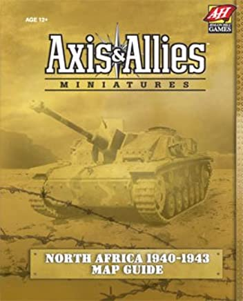 Axis & Allies Miniatures Game North Africa 1940 1943 Map Pack