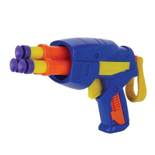 Buzz Bee toys - 61553 - Teck 3 - Pack de 2 Pistolets avec Fleches en Mousse- modèle aléatoire