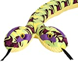 Wild Republic Snake Plush Stuffed Animal Toy, Gifts for Kids, Siamese Whirlpool, 54 Inches