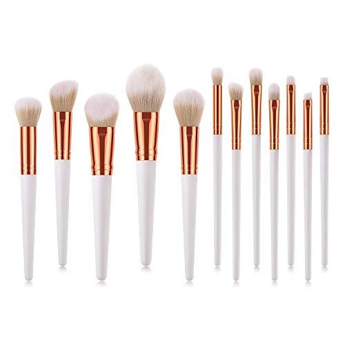 Beauté Décoration Set, Correcteur Beauté Décoration Super Soft Mane brosse de maquillage professionnel Set, adapté à Maquilleur for Pinceau fard à joues Ombre à paupières Crayon à sourcils et des lèvr