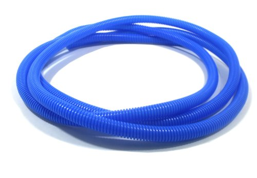 Taylor Cable 38562 Blue Convoluted Tubing