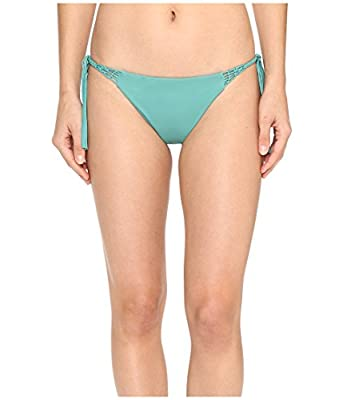 O'NEILL Women's Malibu Solids Tie Side Bikini Bottom, Aloe/Alternate/Ale, XL
