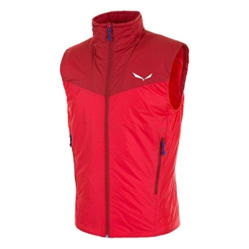 Salewa Ortles 2 PRL M VST - Fitness Weste für Herren, Farbe Rot, Größe 50/L