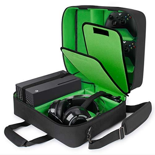 USA Gear Estuche Xbox - Estuche para Consola Compatible con Xbox Series...