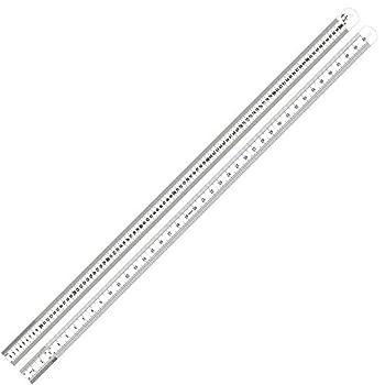 Swordfish 80020 Stainless Steel Measuring Scale Ruler Sae & Metric