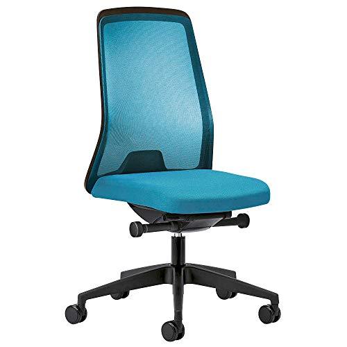 Preisvergleich Produktbild interstuhl EVERYis1 Bürostuhl hellblau Stoff Sitzhöhe: 42, 0 - 53, 0 cm