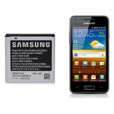 Samsung - Batteria originale EB535151VU per Samsung i9070 Galaxy S Advance