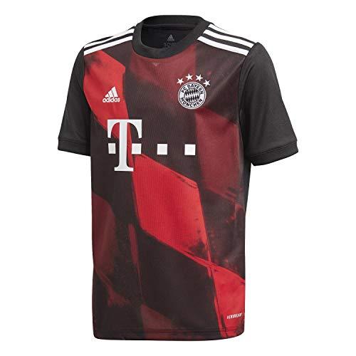 adidas Kinder 20/21 FC Bayern 3rd Jersey Trikot, Black, 140