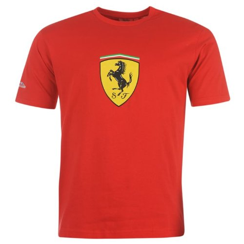 Ferrari Scudetto Alonso Big T Shirt Hombre