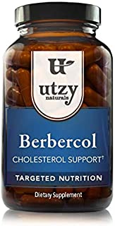 Berbercol - Citrus Bergamot Supplement with Berberine | Naturally Support Cholesterol Health | Helps Maintain Healthy Blood Sugar Levels