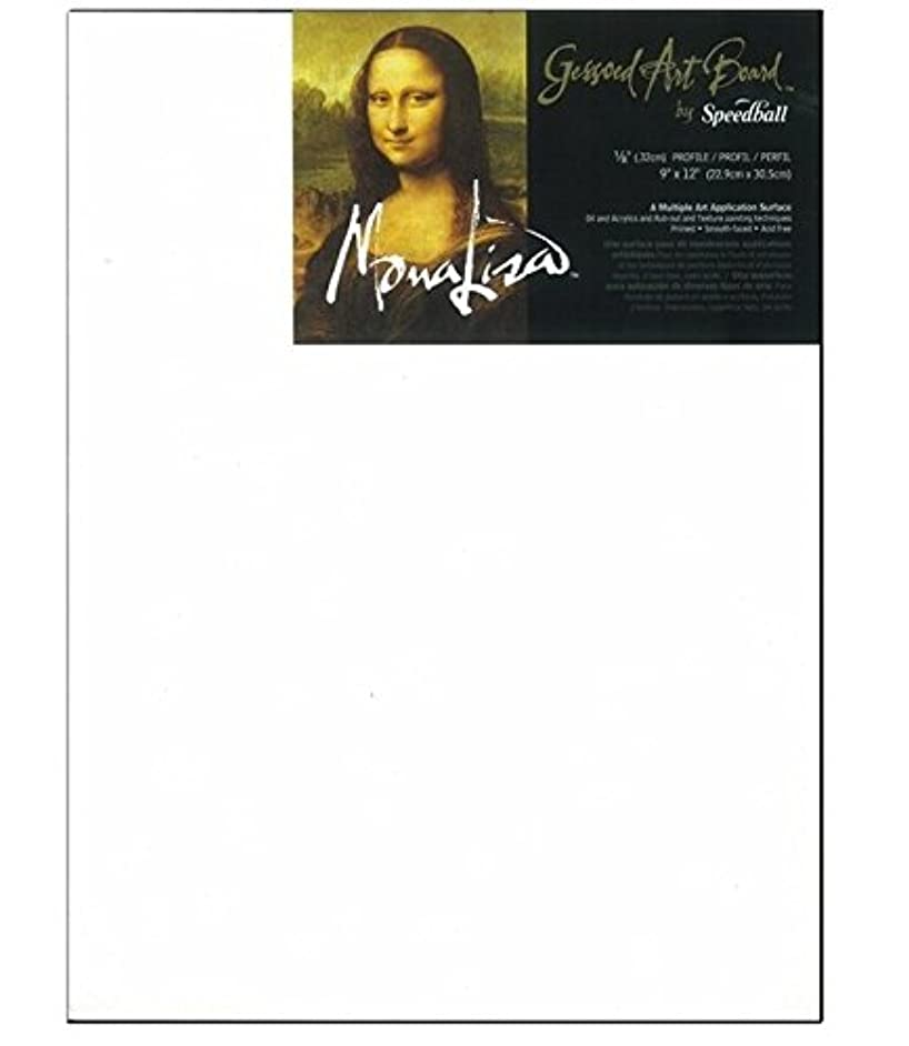 Mona Lisa Gessoed Art Board, Multi-Application Surface, 16 X 20 inches, White (0010312)