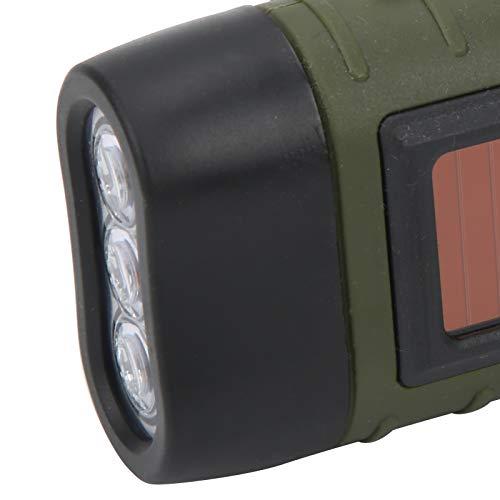 Linterna, Linterna LED de Emergencia Antorcha Portátil Multifunción para Exterior para Iluminación de Noche para Luz