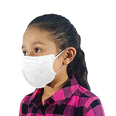 M95c Disposable 5-Layer Efficiency Protective Kid/Toddler Face Mask Breathable Material and Comfortable Earloop Made in USA 5 Units