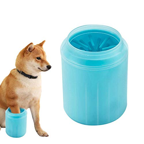 LTE Dog paw Cup Cleaner Soft Silicone Combs Portable Outdoor pet Foot Washer Cup paw Cleaning Brush Quick wash Foot,3,XS