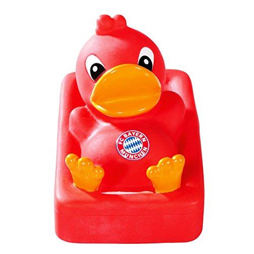 FC Bayern München Sound - Badeente/Quietscheente/Ente/Duck FCB - Plus gratis Aufkleber Forever München