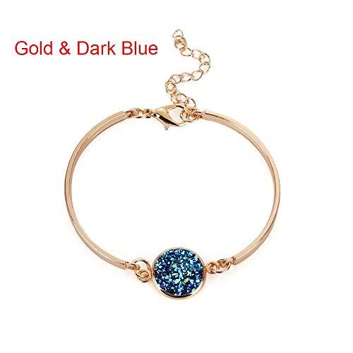 ZKZDSL Armband,Stilvolle Oberarm Armband Frauen Gold Armreif Vintage Pfeil Armreif Armbinde Armmanschette Fashion Punk Gold