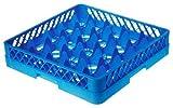 Lacor - 69225 - Cesta Base 25 Compartimentos 50x50x10 -Azul