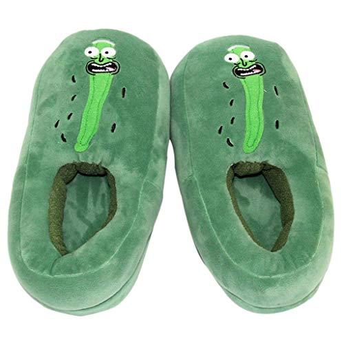 AYDQC 28 cm Zapatillas de Peluche Suave Zapatos Calientes de Dormitorio Suave Juguetes de Peluche muñecas diseño Encantador te Hace lucir Linda y Vibrante