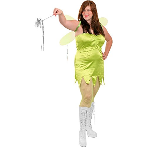 Plus-Size Tinkerbell Costume for Adults