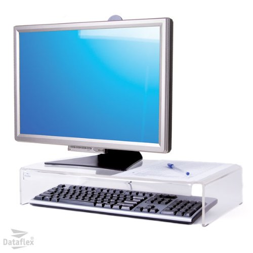 Dataflex 900 CRT Monitorständer (Tragkraft max. 30kg) hellacryl