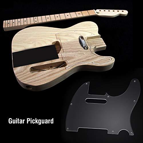 Golpeador de acrílico 8 agujeros para guitarra eléctrica estilo Telecaster Tl
