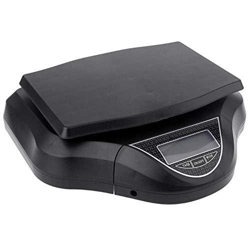 Digitale Personenwaage Digitale Küchenwaage, 30kg / 1g Abnehmbare Elektronische Waagen, High Precision Elektronische Waage mit LCD-Anzeige, zum Kochen und Backen (Color : Black)