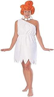 Rubie's Women's Wilma Flintstone Costume, White, Standard