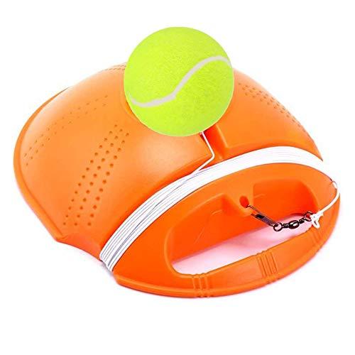 Allenatore di Tennis Palline di Rimbalzo Allenatore di Tennis Baseboard da Tennis Allenatore di Tennis Solista Perfetto - Baseboard Rimbalzo Misura per L'addestramento del Principiante di Tennis