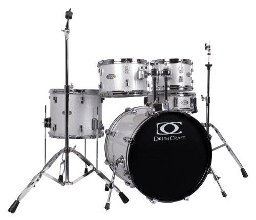 Drum Craft DC803026 Series 3 Fusion Drum Set - White Noise