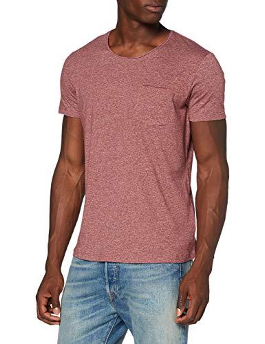 edc by Esprit 990CC2K306 Camiseta, 634/Red 5, XL para Hombre