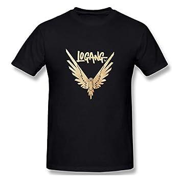 Maverick Bird Gold Logan Paul Fashion Men s Short Sleeve T Shirt