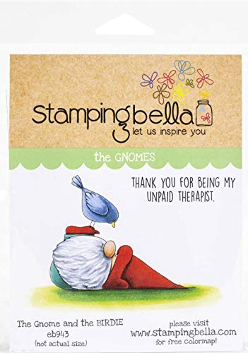 STAMPING BELLA Stamp Bird, The Gnome and The Birdie