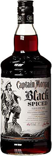 Captain Morgan Black Spiced Rum (1x 1l)