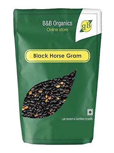 B&B Organics Black Horse Gram (Kulthi Dal), 1 kg