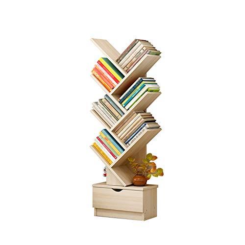 JU FU estante para libros Estantería - Racks para árboles