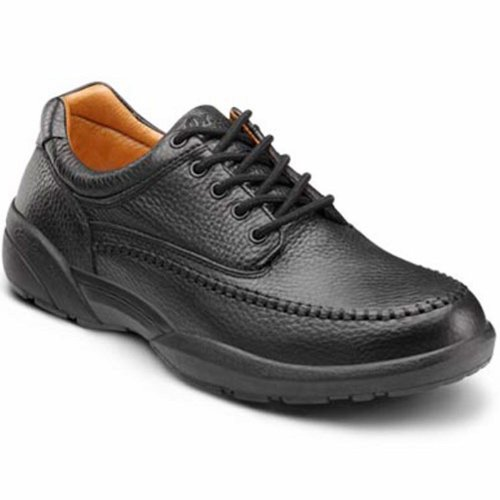 Dr. Comfort Stallion Men's Therapeutic Diabetic Extra Depth Dress Shoe: Black 10 Medium (B/C/D)