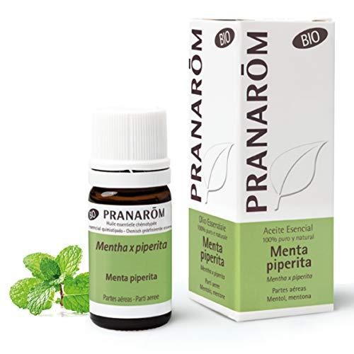 Pranarôm - Aceite Esencial de Menta Piperita Bio - Partes Aéreas - 10 ml