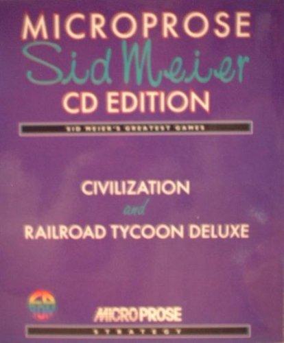 Microprose Sid Meier CD Edition - Civilization u. Railroad Tycoon Deluxe - (DOS)