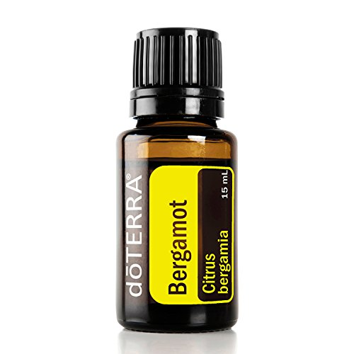 doTERRA Bergamot Essential Oil - Calming and Soothing Aroma, Provides Skin Purifying Benefits, Calming Benefits in Massage Therapy; For Diffusion, Internal, or Topical Use - 15 ml