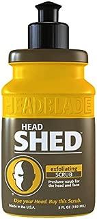 HeadBlade HeadShed Men's Exfoliating Scrub 5 oz Face Wash & Cleanser
