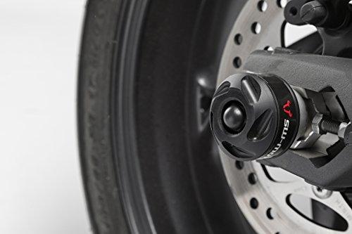 Sturzpad-Kit für Vorderachse, schwarz, Yamaha MT-07 (2014-) / XSR 700 (2016-)