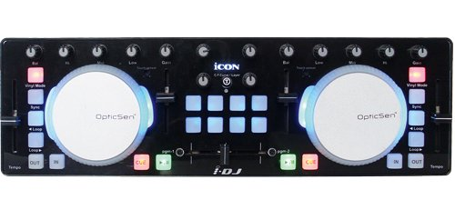 Tastiera Midi Controller Icon i-DJ Black