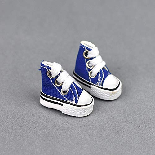 Lingge Mini Zapato para Dedos Lindo Zapato para Patineta Hecho A Mano Zapatos para Patinetas De Juguete para Dedos Zapatos para Bailar con Los Dedos Mini Zapatos De Lona para Los Dedos transferable