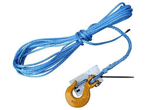 sintéticos cuerda 5mm 10m para cabestrante de ATV Quad de Dyneema SK78de plá