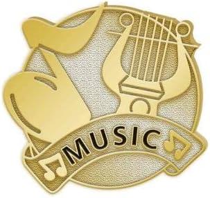 Diestruck Gold Music Nashville-Davidson Mall Lapel Pins Prime Award Special Campaign Note -