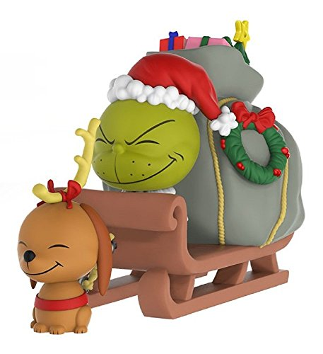 Funko 21758 dorbz Ridez van de Grinch Max en slee figuur